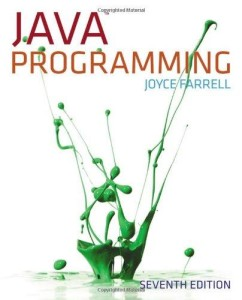 Java Programming, 7th Edition, Joyce Farrell